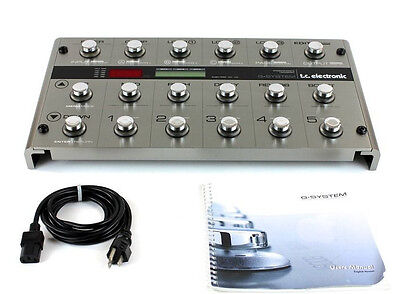 TC Electronic G System Guitar Multi-Effects Pedal Board