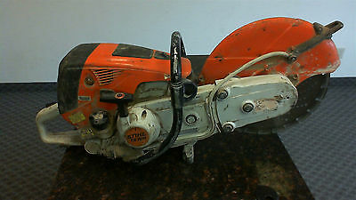 Stihl TS 700 Gas Powered Concrete Cutoff Saw With Blade & Water Kit