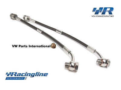 Audi A3 S3 8v Racingline Volkswagen Racing Rear Braided Brake Hoses Lines VWR