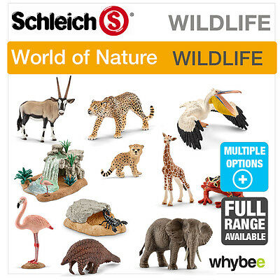 New! Schleich Wildlife Wild Animal Figures - Full Range Multiple Choice Figurine