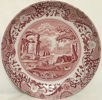 Spode Red Italian Individual Pasta Bowl - Mint Condition