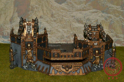 Warhammer 40K Scenery DPS Painted Wall of Martyrs: Firestorm Redoubt AP079