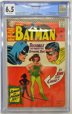 BATMAN #181 CGC 6.5 1st Appearance POISON IVY w Pin Up 1966 Infantino Anderson