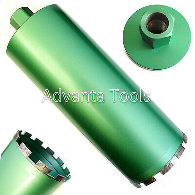 "3-1/4"" Wet Diamond Core Drill Bit for Concrete - Premium Green"