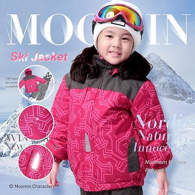 Moomin Kids Boys Girls winter Jacket snow coat skiing suit wadded padded Parkas