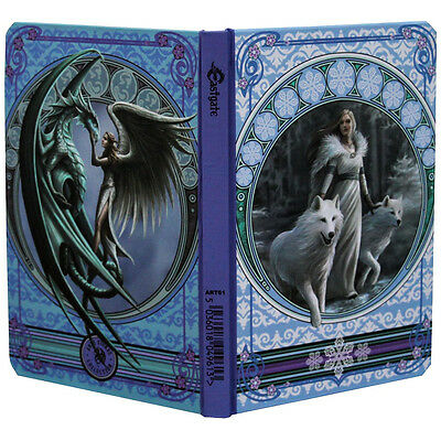 Winter Guardian journal note book writing diary almanac ledger Anne stokes wolf