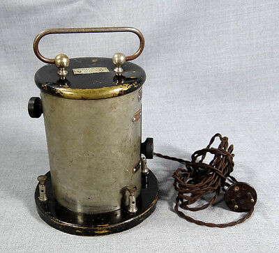 19c. ANTIQUE RUDOLF KUTILL WIEN ELECTRO-MEDICAL SURGICAL AC APPARATUS CAUSTIC
