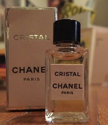 Vintage Chanel Christal Paris France Perfume Nib