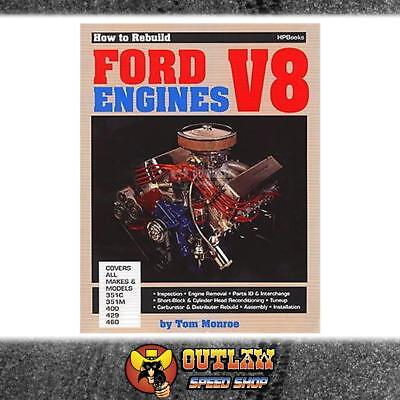 Automotive Book How To Rebuild Ford V8 Engines Cleveland All & 429-460 Big Block