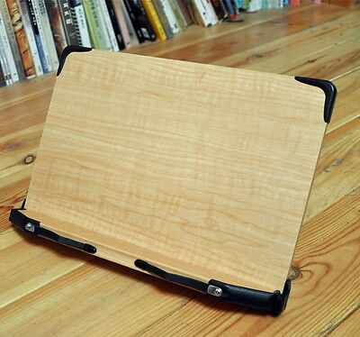 """Wooden Book Stand Holder Portable Reading Board 34 x 23.5cm 13.4""""x9.2"""" Korea"""