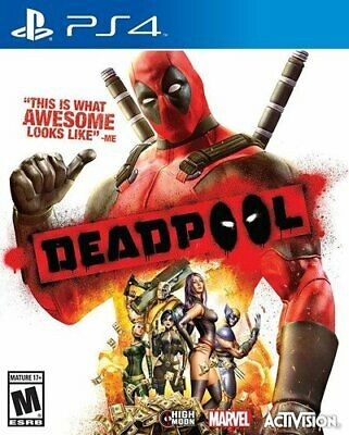 Deadpool Playstation 4 PS4 Brand New *DISPATCHED FROM BRISBANE*