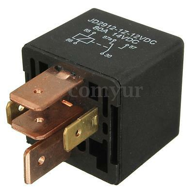 12V 80A 5 Pin Relay Waterproof For Cars Motorcycle Van Boat Spotlight Changeover