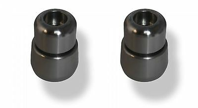 BMW S1000XR Handlebar End Weights Silver 2015 onwards Evotech Performance