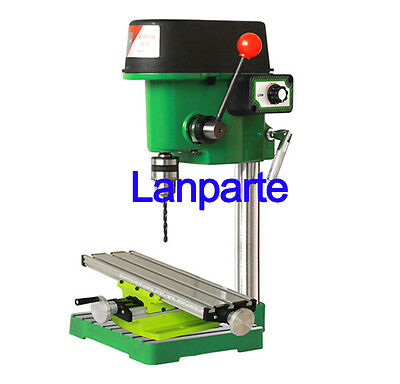 480W Rotary Pillar Drill Presses Drilling Machine With Operating Platform 220V