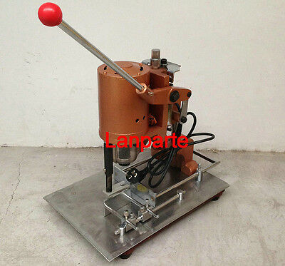 Electric Hangtag Punch Machine, Notebook / Calendar / Paper Hole Drilling 220V