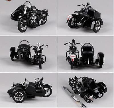 1/18th Scale Maisto Harley Davidson Motorcycle With Side Car Sidecar Model