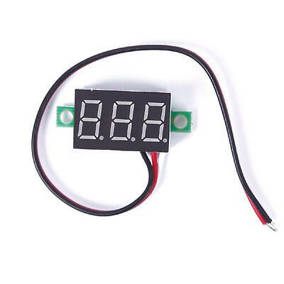 Hot DC 2.5-30V LED Panel Voltage Meter 3-Digital Display Voltmeter Voltage Meter