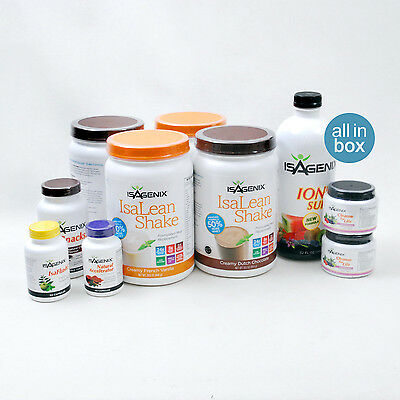 Isagenix 30 Day Nutritional Cleanse & Weight Loss Program Pack 30 Day Pak
