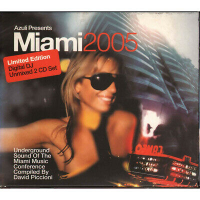 AA.VV. 2 CD Miami 2005 Limited Edition Sigillato 0880157020362