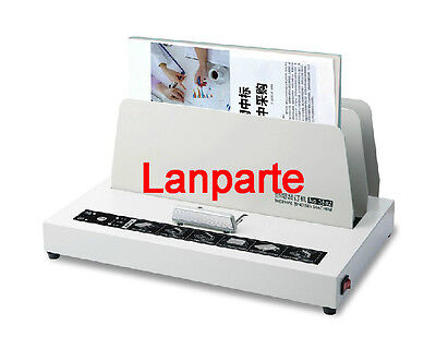 New Electric Power Hot Melt Bookbinding Machine Thermal Book Binder For A4 220V
