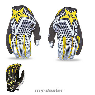 FLY Racing Rockstar Energy Handschuhe Glove MX Motocross Enduro Quad MTB BMX