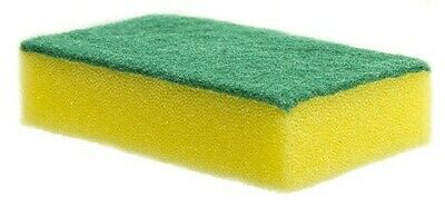 Large Professional Sponge Scourers Heavy Duty Catering Washing Up Scouring Pads