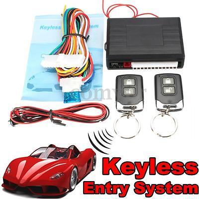 Car Remote Central Kit Security Door Locking Vehicle Keyless Entry System Alarm