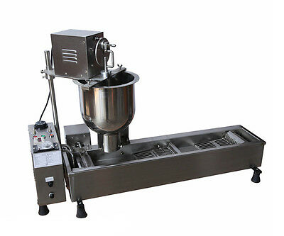 Commercial Automatic Electric Donut Maker Donut Frying Machine 220V