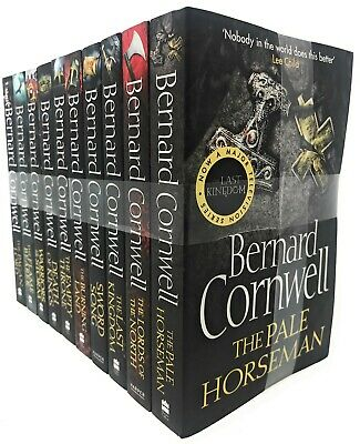 Bernard Cornwell The Last Kingdom Series 10 Books Collection Set PACK NEW BRAND