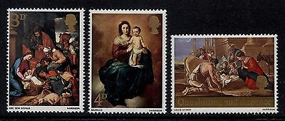 GB MNH STAMP SET 1967 Christmas Paintings SG 756-758 10% OFF FOR ANY 5+