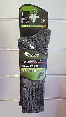 Pack 2 pares de calcetines LORPEN HEAVY TREKKER OVER CALF