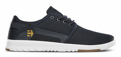 Etnies Mens Scout Navy/White Shoes UK 8
