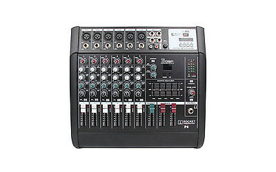 6 Channel Mixing Console with built in effects and USB playback