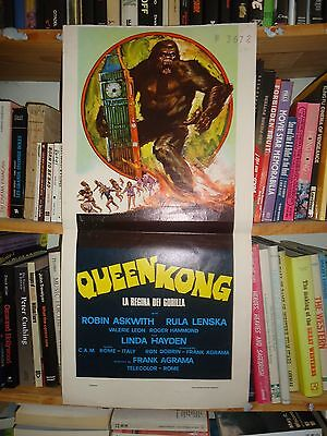 QUEEN KONG/ROBIN ASKWITH+VALERIE LEON / italy poster