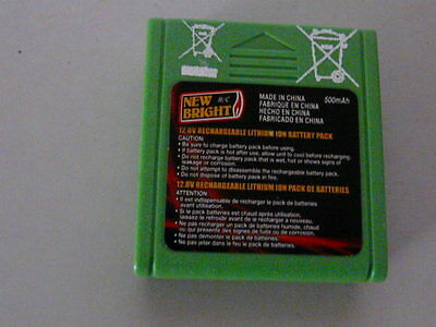 Battery Lithium Lionen 12.8V 500mAh battery rechargeable by New Bright