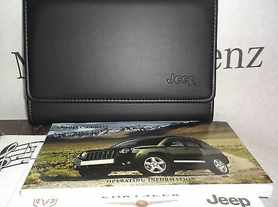 Jeep Compass 07-11 Owners Handbook Service Book Pack Operating Info