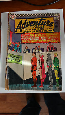 ADVENTURE COMICS # 346 (DC Comics 1966) 1st appearance of KARATE KID