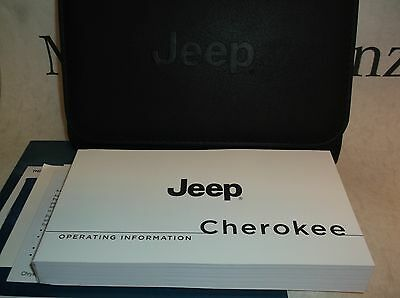 Jeep Cherokee 2014 Owners Handbook Service Book Pack Operating Info