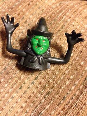 Scary Evil PVC Plastic Halloween Witch Finger Puppet