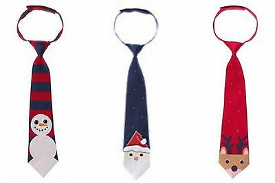 NWT Gymboree Christmas Holiday Shop Santa, Reindeer or Snowman Tie  U-Pk