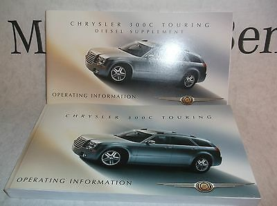 NEW Genuine Chrysler 300C Owners Handbook Service Book