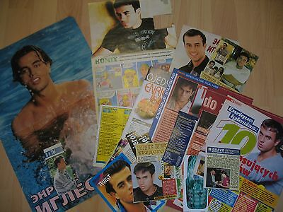 Enrique Iglesias - rare clippings/cuttings/articles
