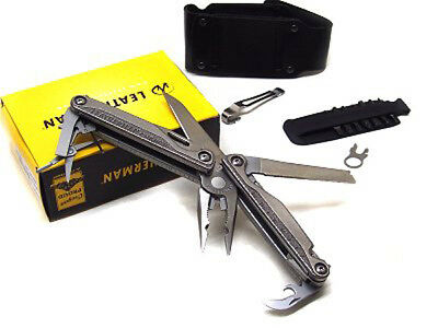 Pinza Leatherman Charge TTI multiuso al titanio LE830731