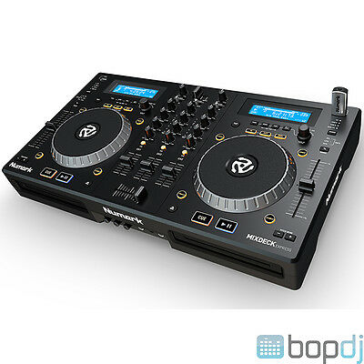 Numark Mixdeck Express - All-in-One DJ Controller, CD & USB Player Decks & Mixer