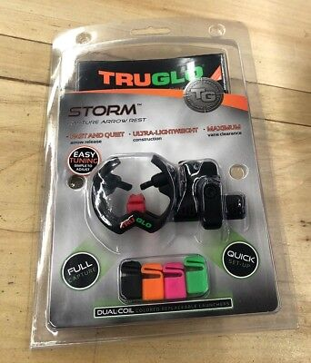Truglo storm capture arrow rest hunting youth safe target shhoting indoor & out