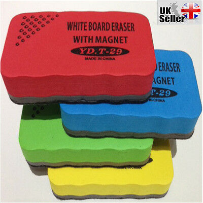 Magnetic Whiteboard Drywipe Eraser Rubber Cleaner for School Office