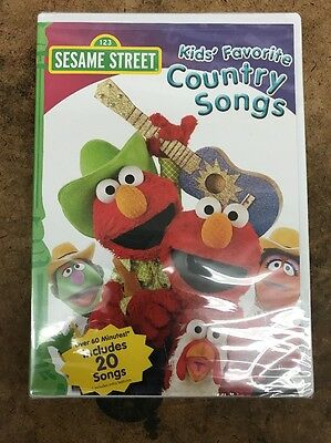 Sesame Street - Kids' Favorite Country Songs (DVD, 2007)