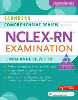Saunders Comprehensive Review for the Nclex-rn Examination by Linda Anne Silvest