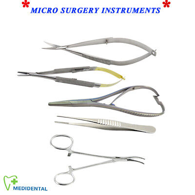 Microsurgery Castroviejo Mathieu Noyes Scissor Mosquito Tissue Forceps Surgical