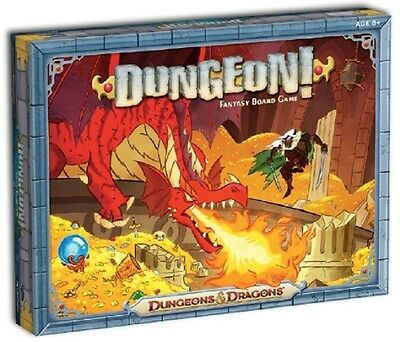Wizards of the Coast: Dungeon! 2nd Edition Board Game (New)